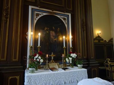 Anyák napi oltár
