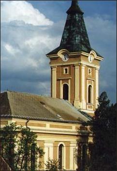 Templom homlokzata